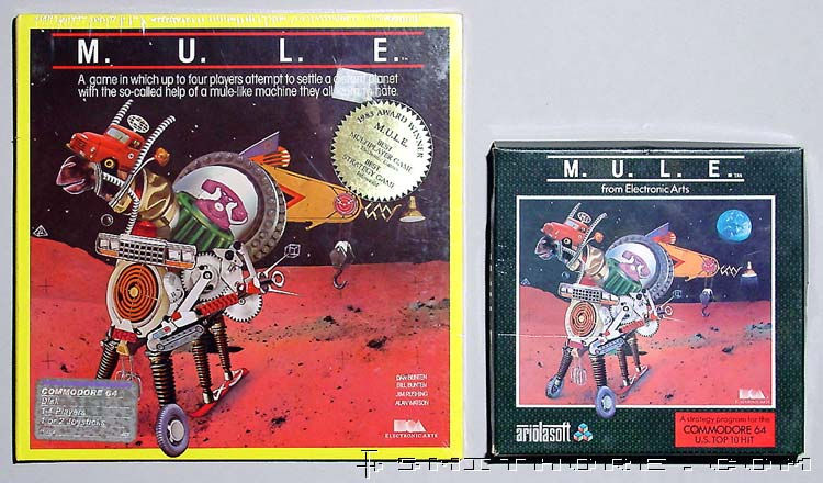 Two M.U.L.E. boxes