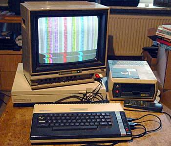 A blown Atari 800XL